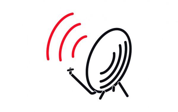 Servicio de televisión satelital