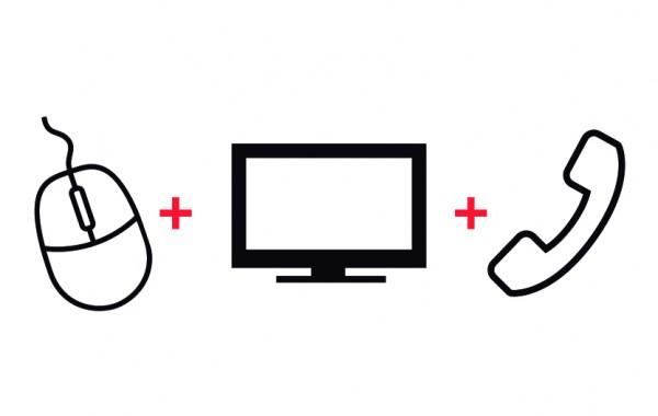 Servicio HFC telefonía, Internet y televisión